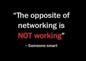 Not Networking Is Not Working