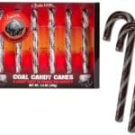 Coal Candy Canes