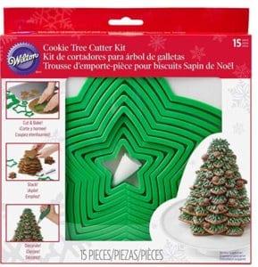 Wilton Gingerbread Cookie Tree Cutter Set $11.99