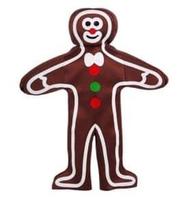 Forum Novelties Men's Gingerbread Man Adult Costume