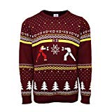 Street Fighter Official Ken Vs. Ryu Ugly Christmas Sweater