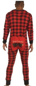 Adult Flapjack Onsie by LazyOne | Adult Family Matching Pajamas