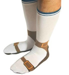Cool socks to go with your new cool clothing,