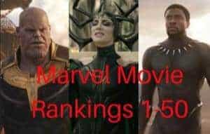 Top Marvel Movies