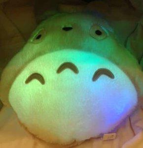 Totoro Soft Plush Pillow 12x15 Light Up !!!