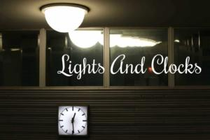lights and clocks for sale