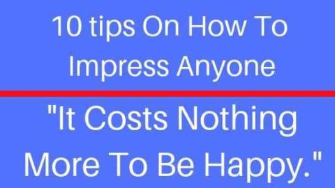 How To Impress People
