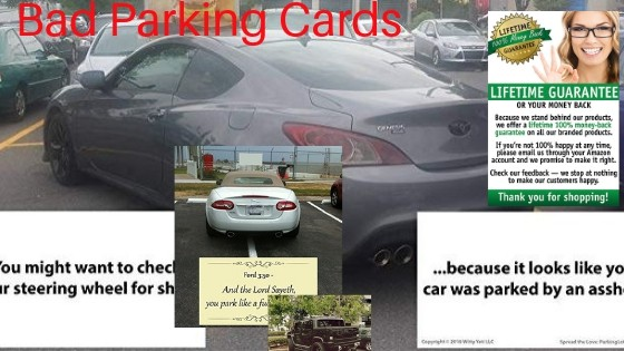 Bad Parking Cards For Every Occasion