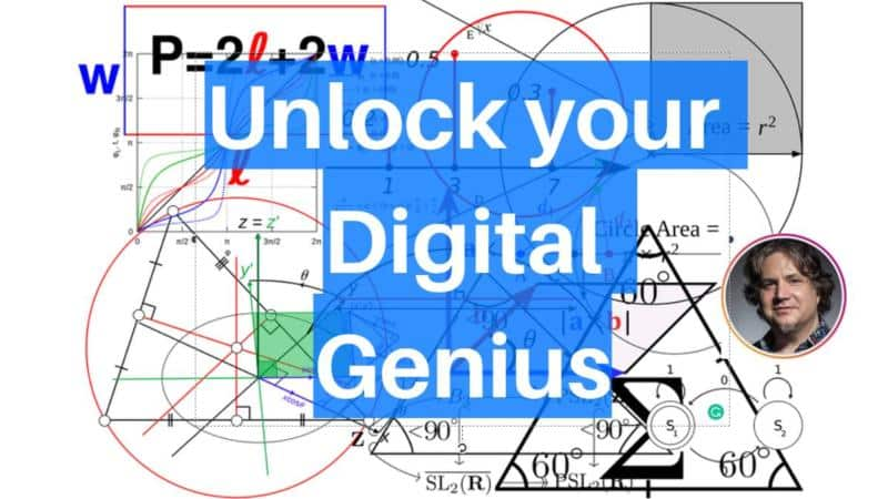 You're A Digital Genius And Probably Don't Even Know It.