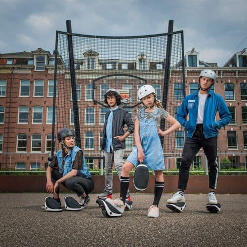Segway Drift W1 e Roller Skates, e-Skate Electric Hovershoes, Ninebot Rollerblades Men Mens Women Boys Girls