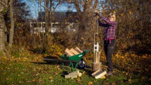 Logosol Smart-Splitter | Faster & Safer Firewood Splitting