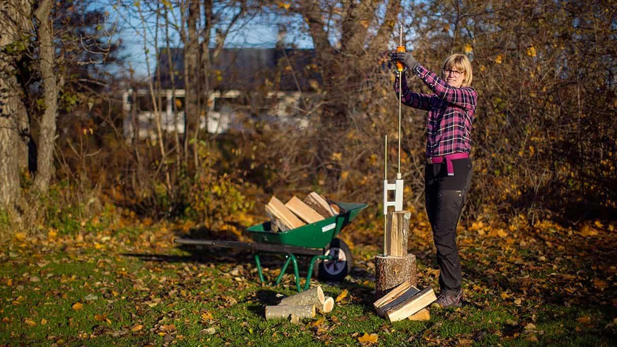 smart firewood splitter