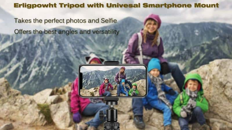 Erligpowht Flexible Phone Tripod