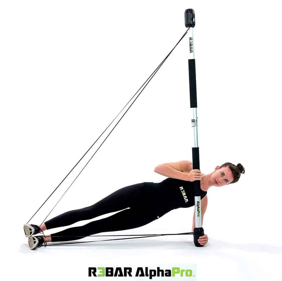 R3BAR AlphaPro Exercise Strength & Conditioning Training Tool for Athletic Performance Enhancement, Core Stabilization, Pre-habilitation, Rehabilitation, Therapeutic Active Recovery & Coordination