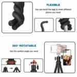 1x Flexible Mini Tripod; 1x Phone Grip Mount; 1x GoPro Adapter; 1x Wireless Remote Shutter; 100% Money back guarantee and 24-hour friendly customer service.