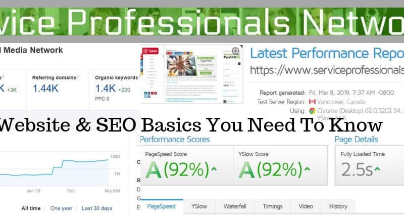 Website & SEO Basics You Need To Know