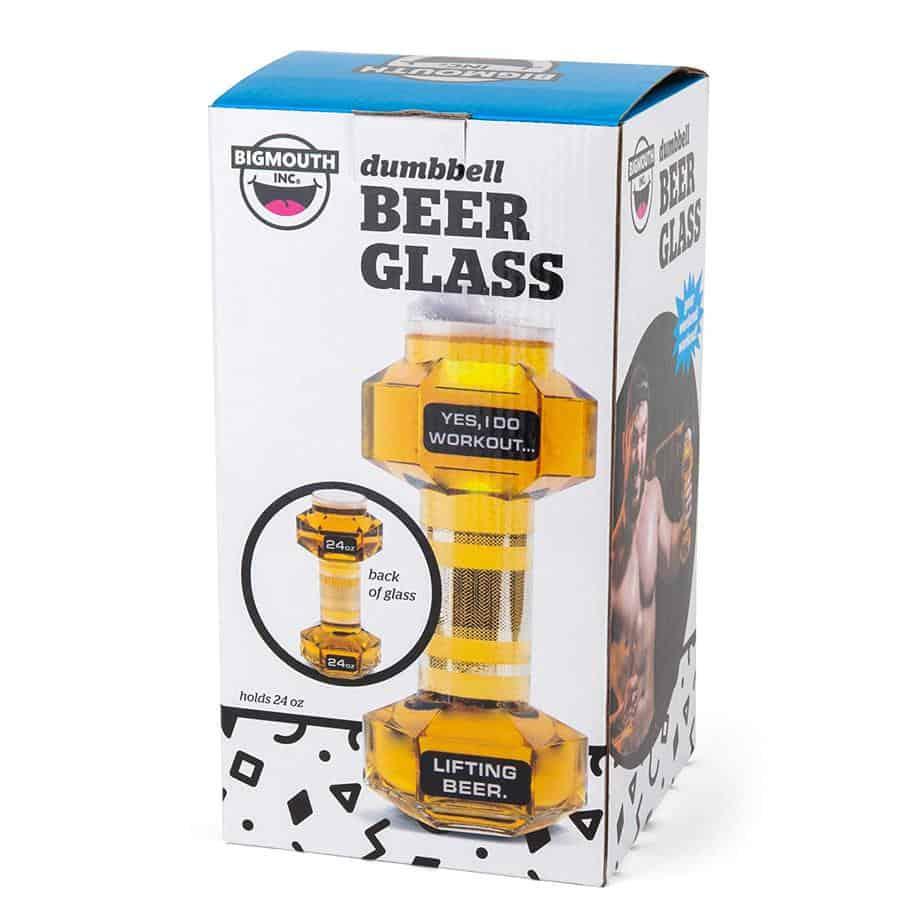Beer Dumbbell Glass