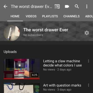 My small drawing YouTube… [Read more]