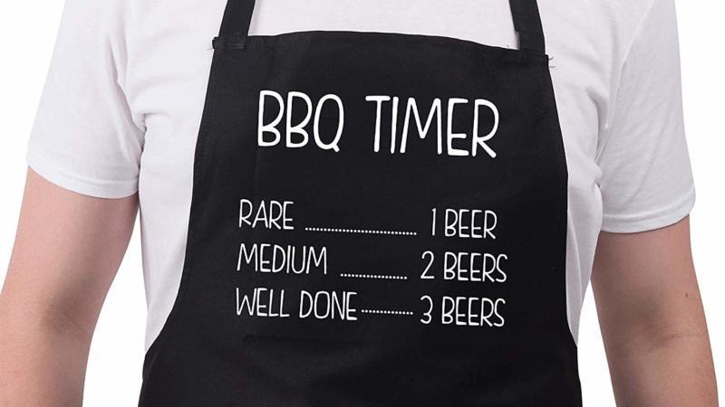 BBQ Aprons For Men- BBQ Timer Apron