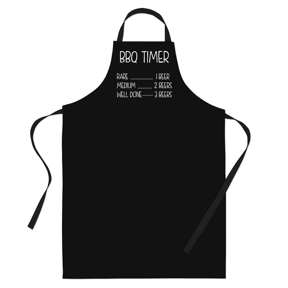 BBQ Apron Timer Barbecue Grill Gift Ideas