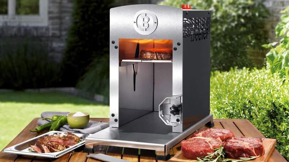 Beefer the 1,500-Degree Grill...Buy it on Amazon for $699.00.