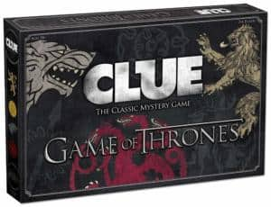 Game of Thrones Clue - Family Board Game