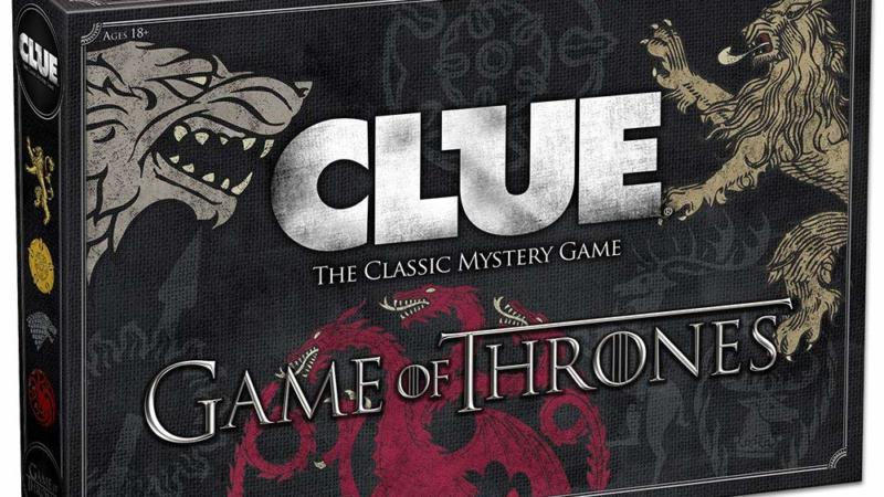 Game of Thrones Clue – Family Board Game