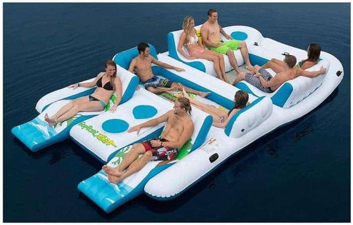 8-Person Island Raft – Great Beach Stuff