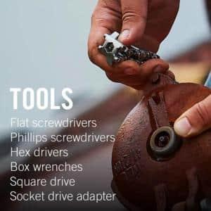 Leatherman Tread Bracelet - Travel-Friendly Wearable Multitool