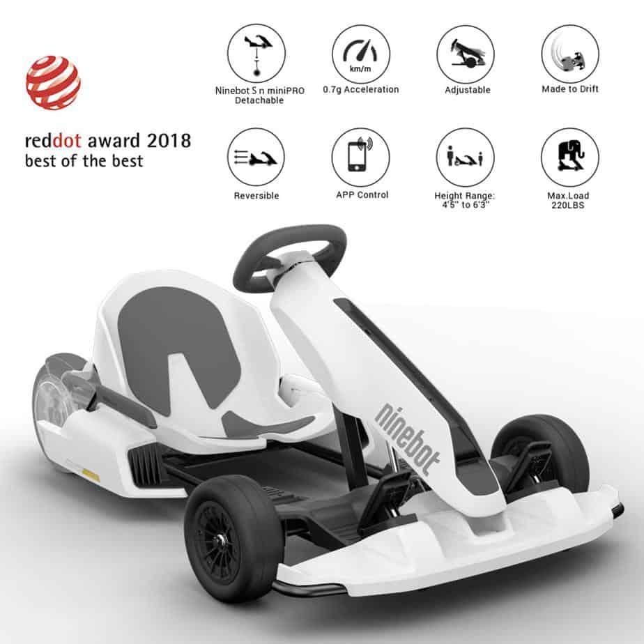 Segway Ninebot Electric GoKart Kit - Best of the Best Rot Dot Award 2018