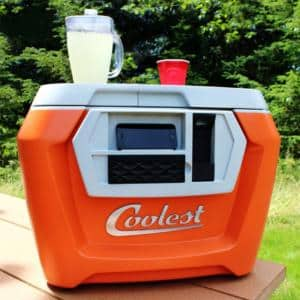 The Coolest Cooler - Perfect Cooler For Beach Or Camping