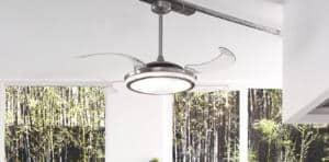 Hunter Fan Retractable Blade Ceiling Fan
