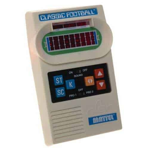 Mattel Classic Football Handheld