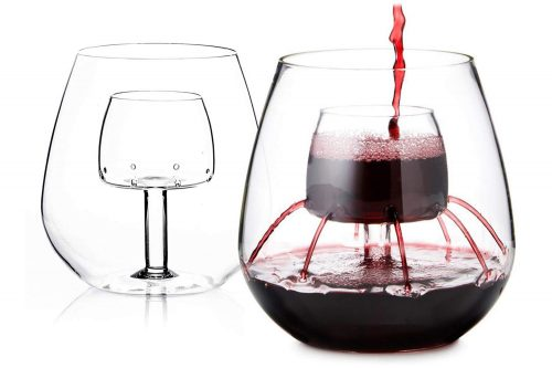 Stemless Aerating Wine Glass – Gifts For Her
