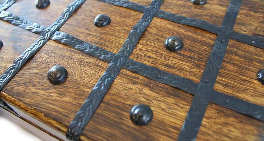 Wooden Pirate Treasure Chest Box- Sturdy