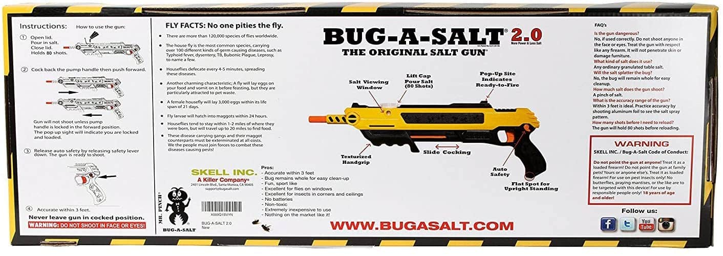 Bug-A-Salt Exterminating Shotgun 2.0