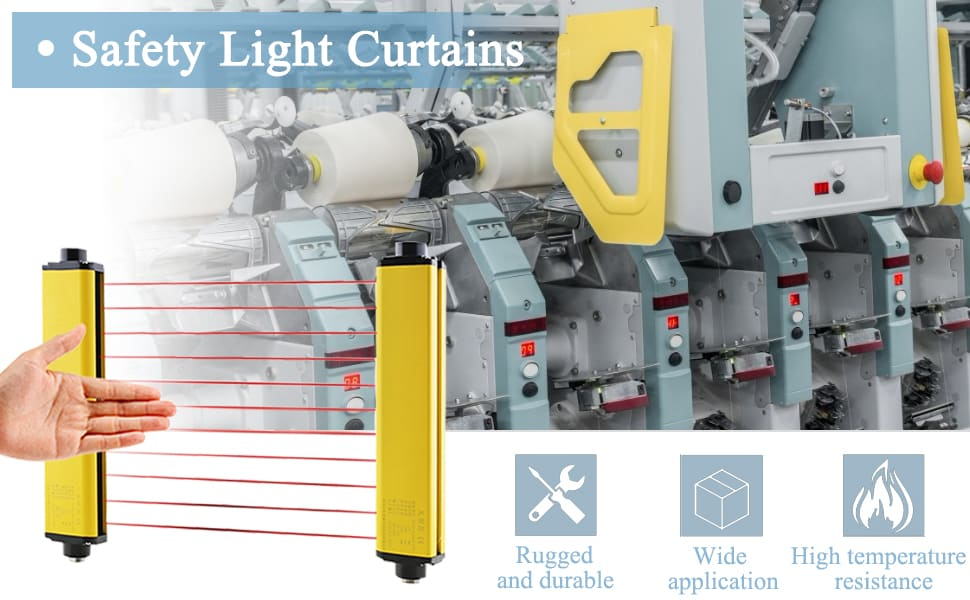 CGOLDENWALL Safety Light Curtains - Broad Use