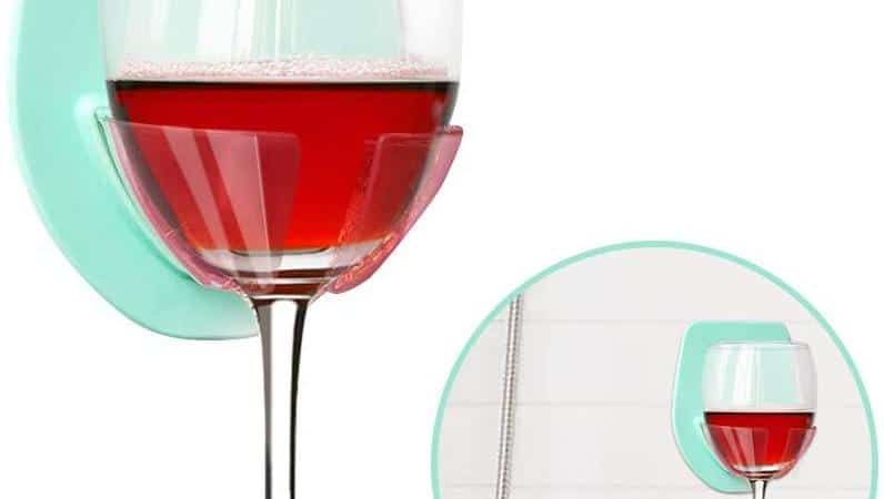 Bathtub Wine Glass Holder
