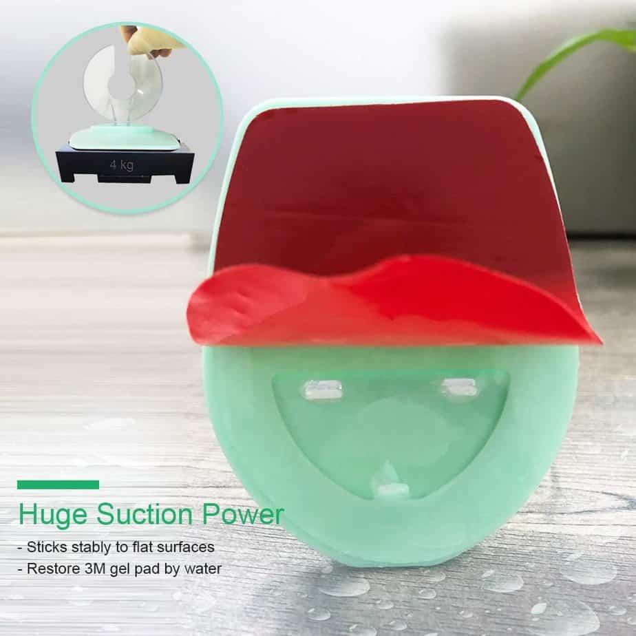 Gotega Wine Glass Holder Shower & Bath Suction Cup