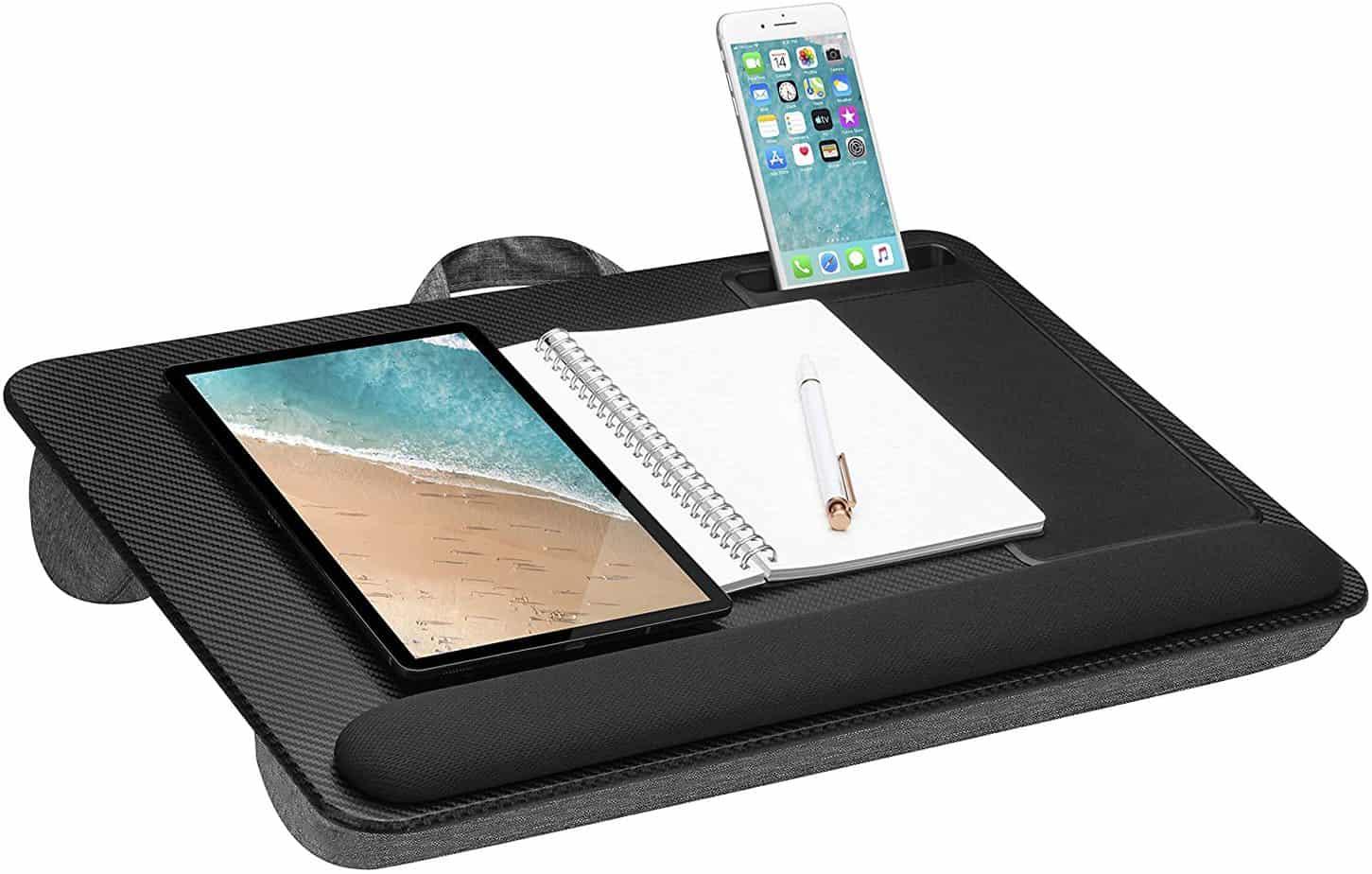 LapGear Home Office Pro Lap Desk with Wrist Rest