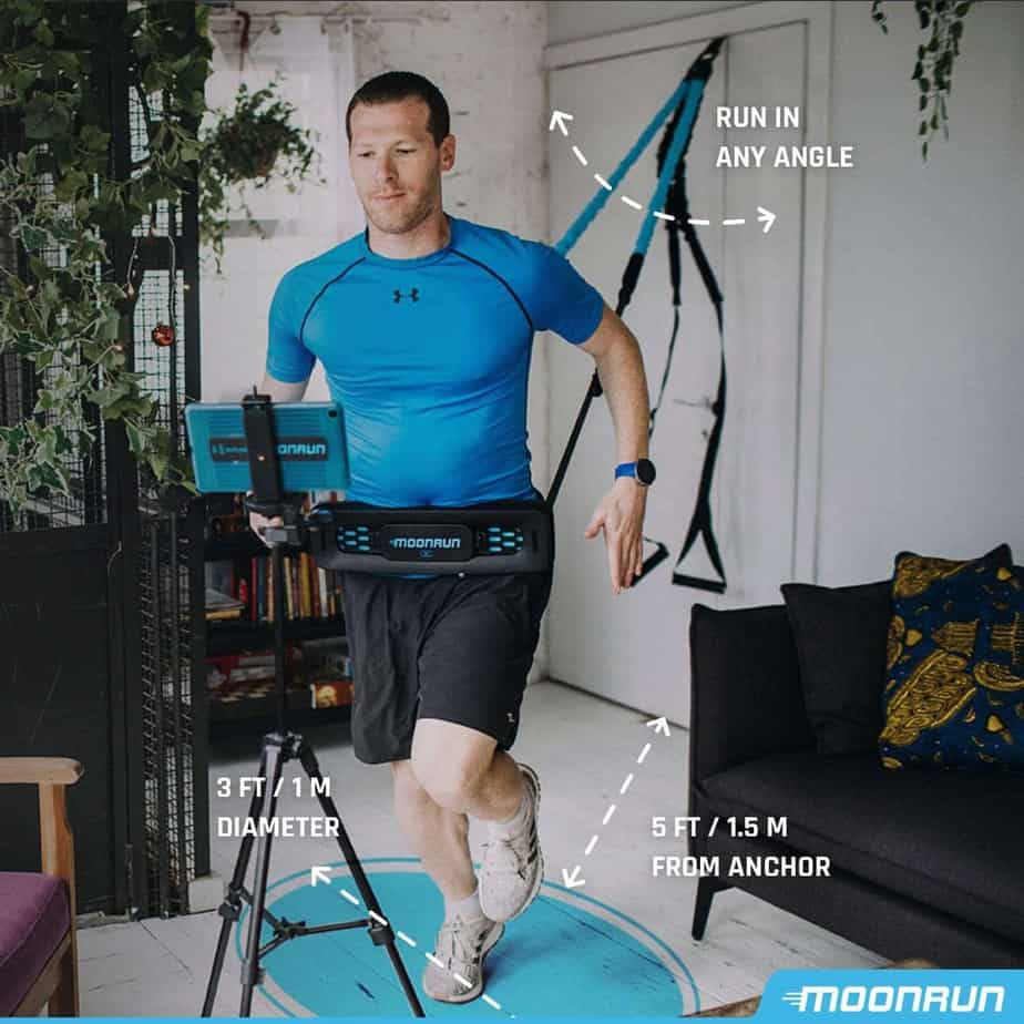 MoonRun Indoor Aerobic Trainer For Men