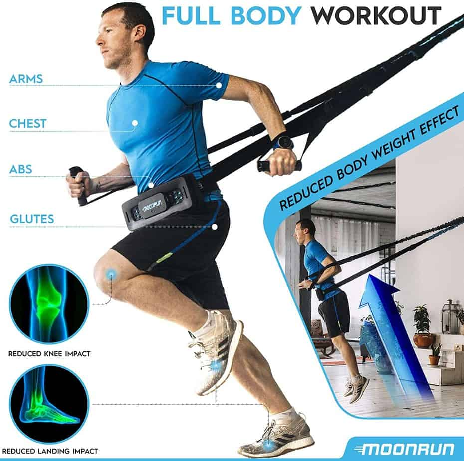 MoonRun Indoor Aerobic Trainer- Full Body Workout