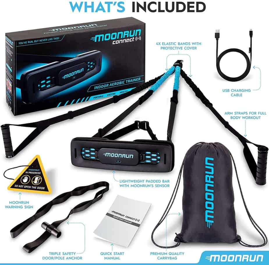 MoonRun Indoor Aerobic Trainer Full Set