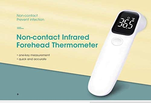 GuruNanda Contactless Infrared Forehead Thermometer