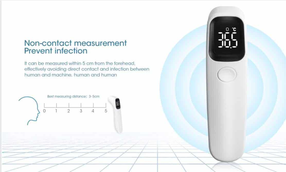 Neo-contact measurement prevent infection