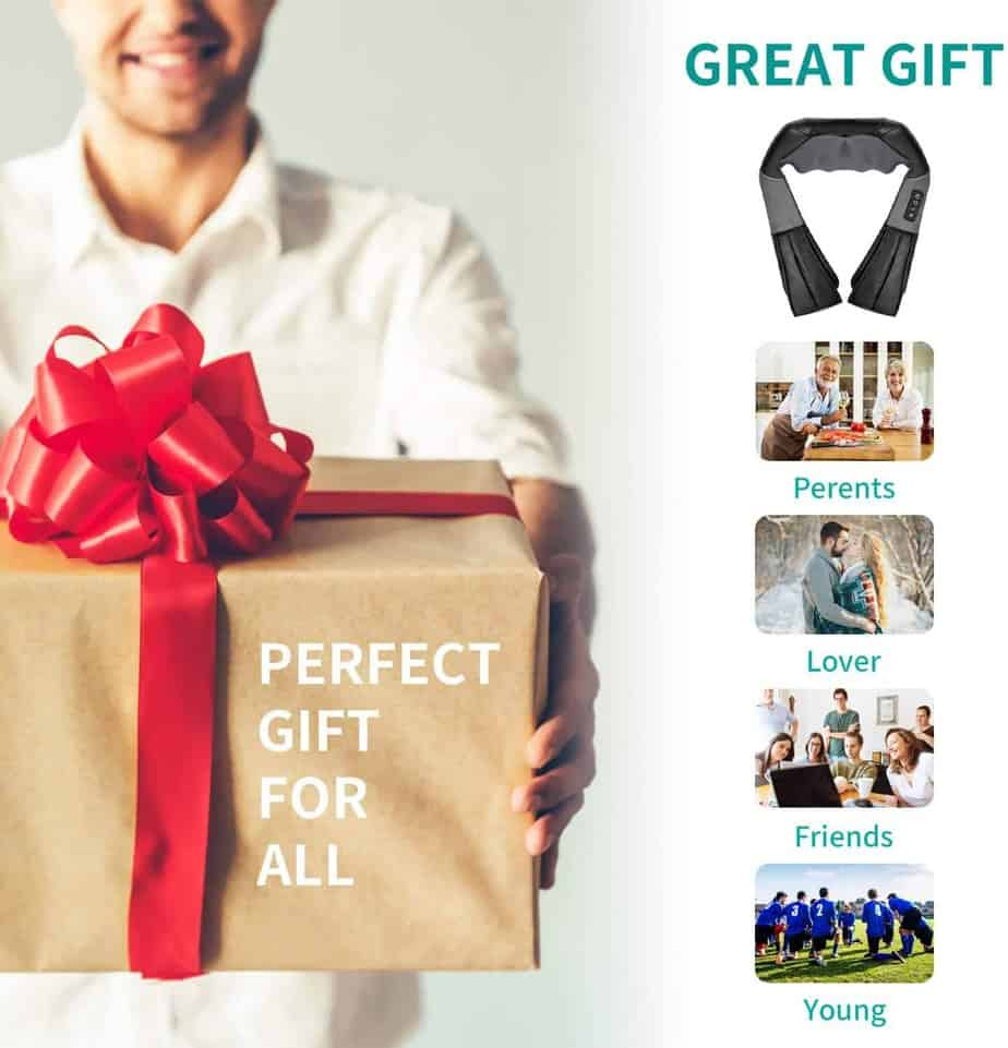 Shiatsu Neck and Back Massager- great gift idea for all