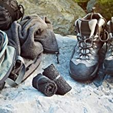 Skinners - Minimalist Barefoot Sock Shoes - Camping Traveling