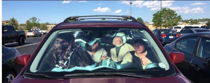 Star Wars Sunshade – Great Gift Idea For Fans