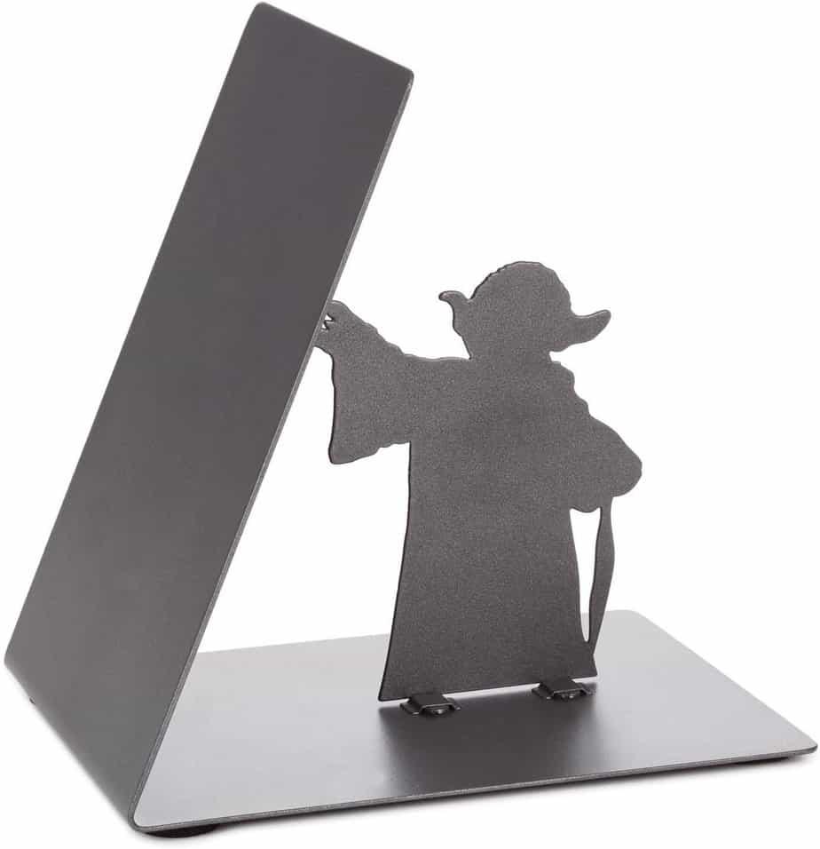 Star Wars Yoda Metal Bookend Back