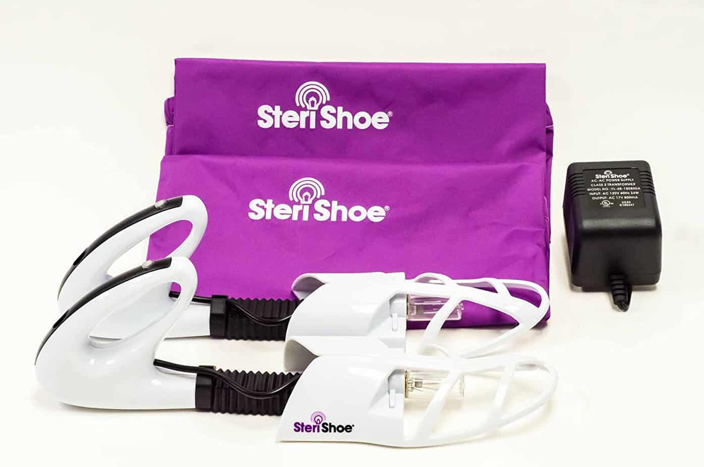 SteriShoe Ultraviolet Shoe Sanitizer Full Set